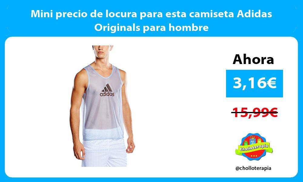 Mini precio de locura para esta camiseta Adidas Originals para hombre