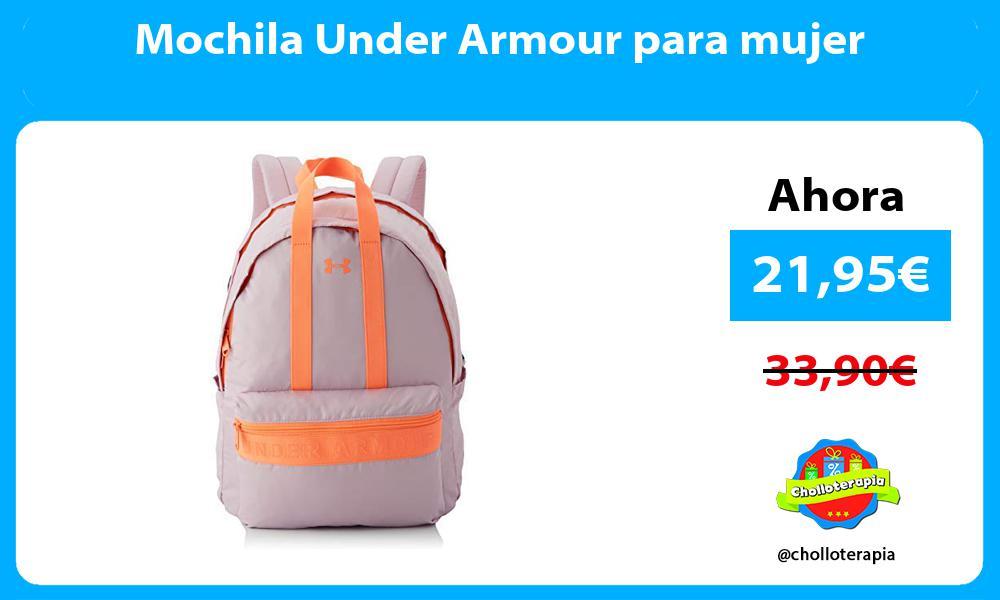 Mochila Under Armour para mujer