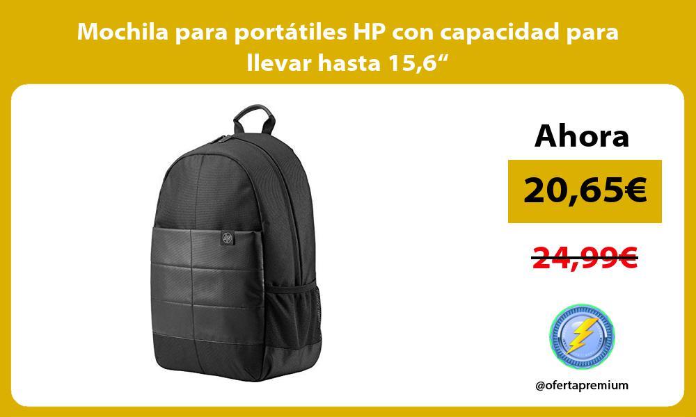 """Mochila para portátiles HP con capacidad para llevar hasta 156"""""""