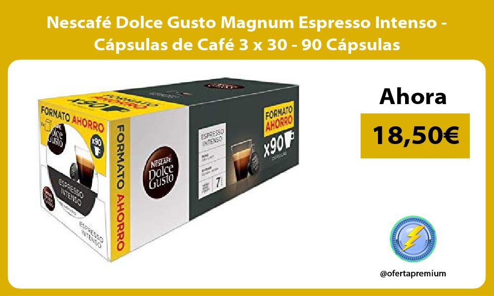 Nescafé Dolce Gusto Magnum Espresso Intenso Cápsulas de Café 3 x 30 90 Cápsulas