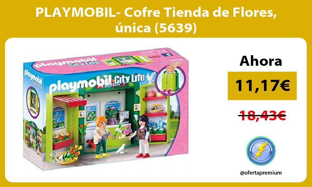 PLAYMOBIL Cofre Tienda de Flores única 5639