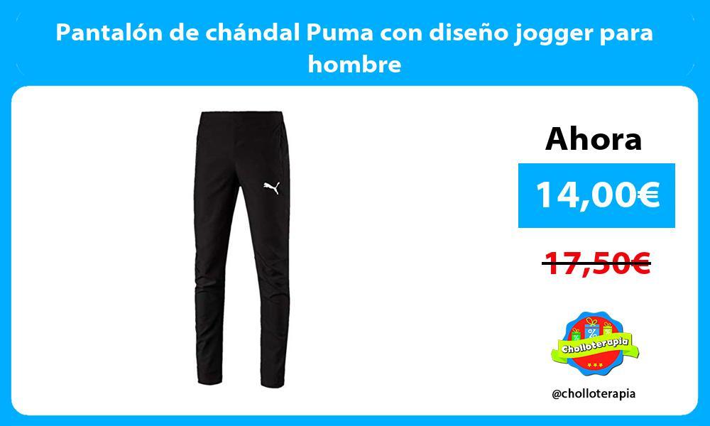 Pantalón de chándal Puma con diseño jogger para hombre