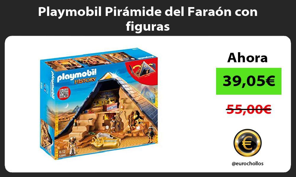 Playmobil Pirámide del Faraón con figuras