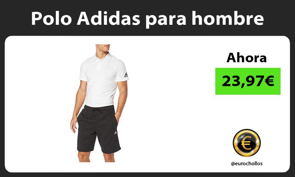 Polo Adidas para hombre