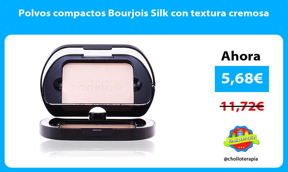 Polvos compactos Bourjois Silk con textura cremosa