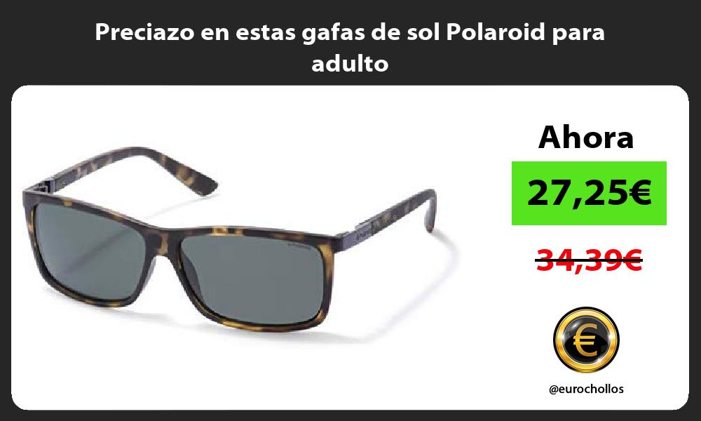Preciazo en estas gafas de sol Polaroid para adulto