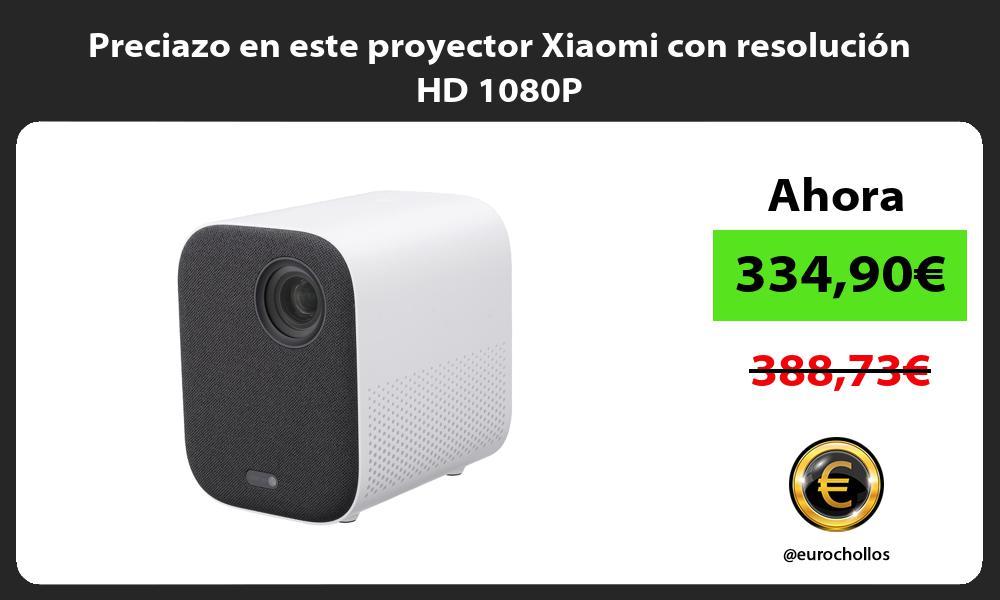 Preciazo en este proyector Xiaomi con resolución HD 1080P