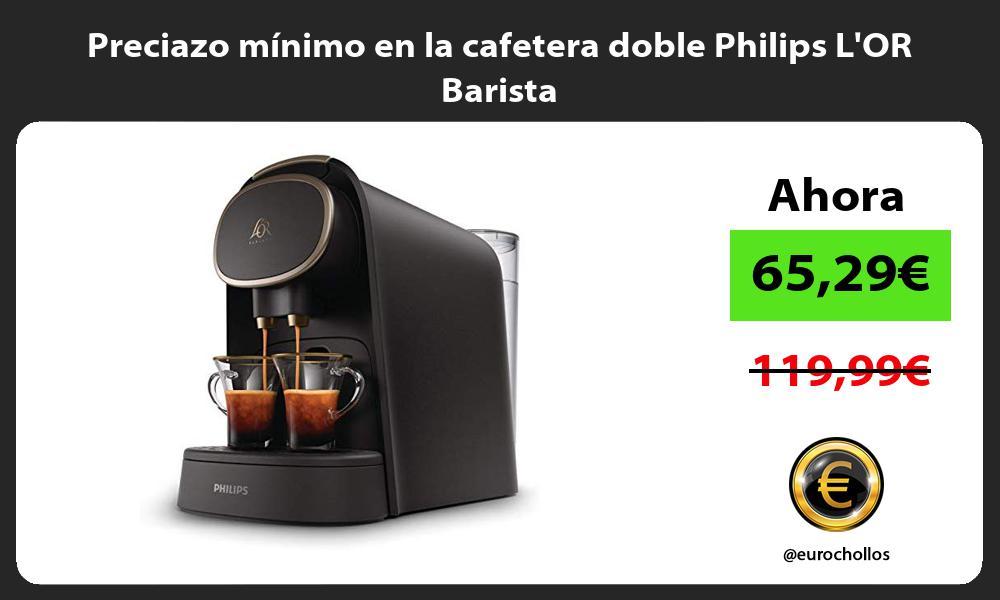 Preciazo mínimo en la cafetera doble Philips LOR Barista