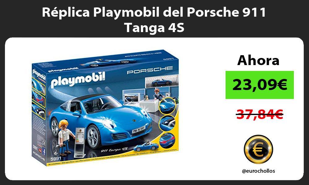 Réplica Playmobil del Porsche 911 Tanga 4S