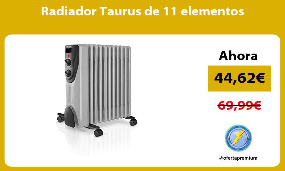 Radiador Taurus de 11 elementos