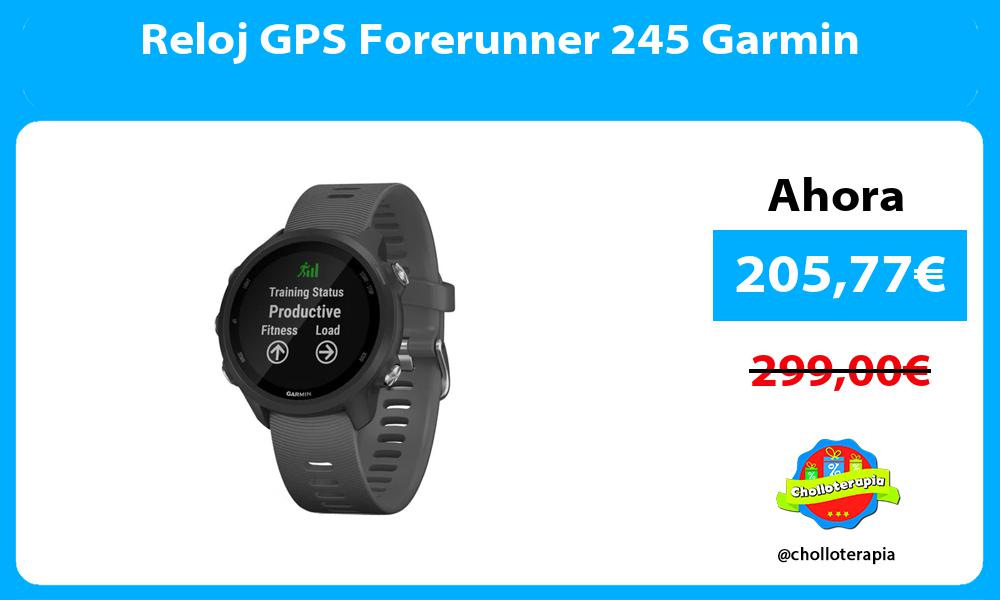 Reloj GPS Forerunner 245 Garmin