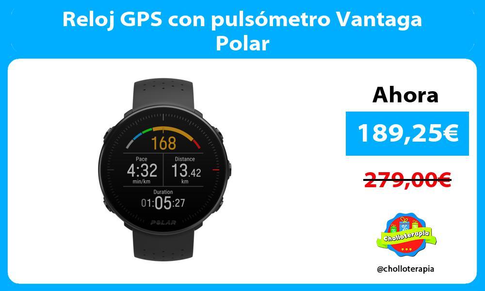 Reloj GPS con pulsómetro Vantaga Polar