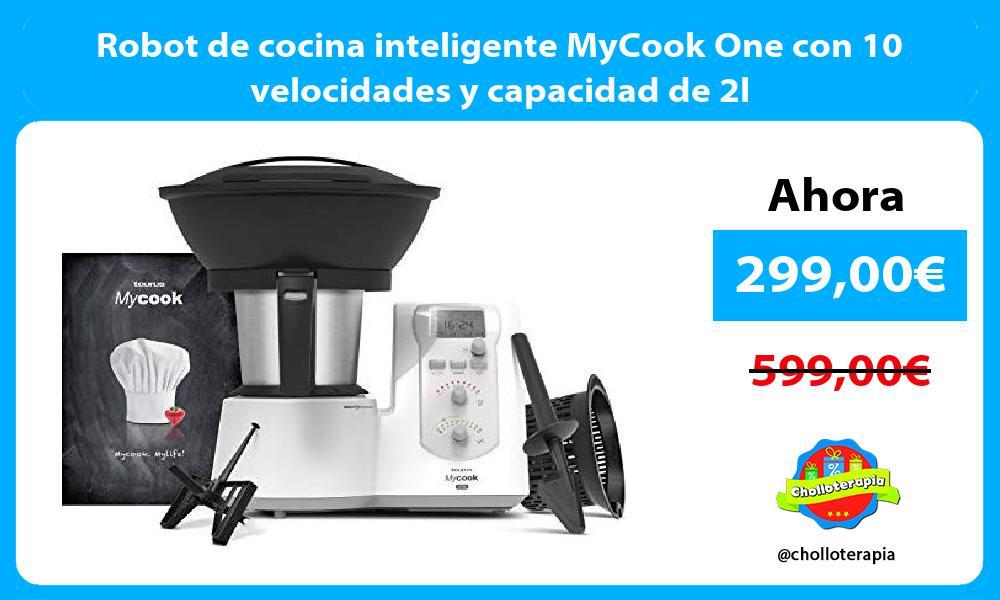 Robot de cocina inteligente MyCook One con 10 velocidades y capacidad de 2l
