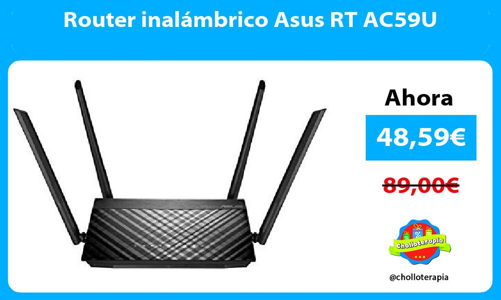 Router inalámbrico Asus RT AC59U