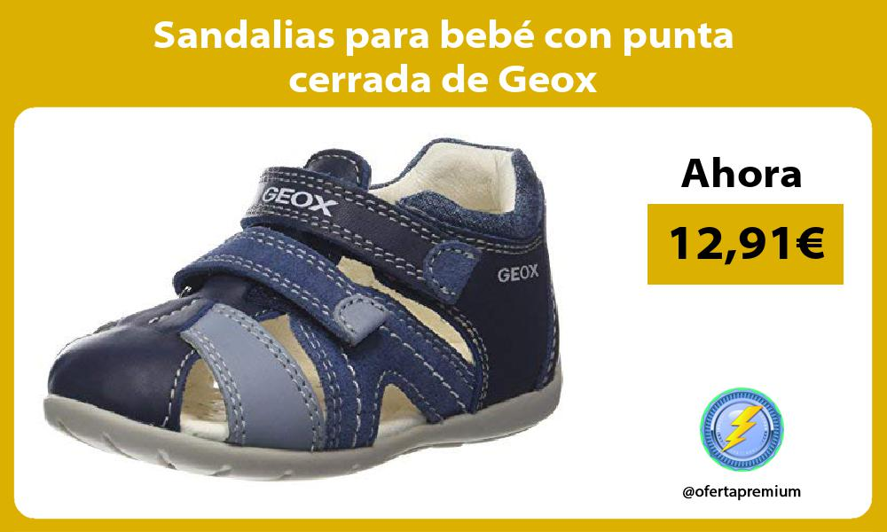 Sandalias para bebé con punta cerrada de Geox