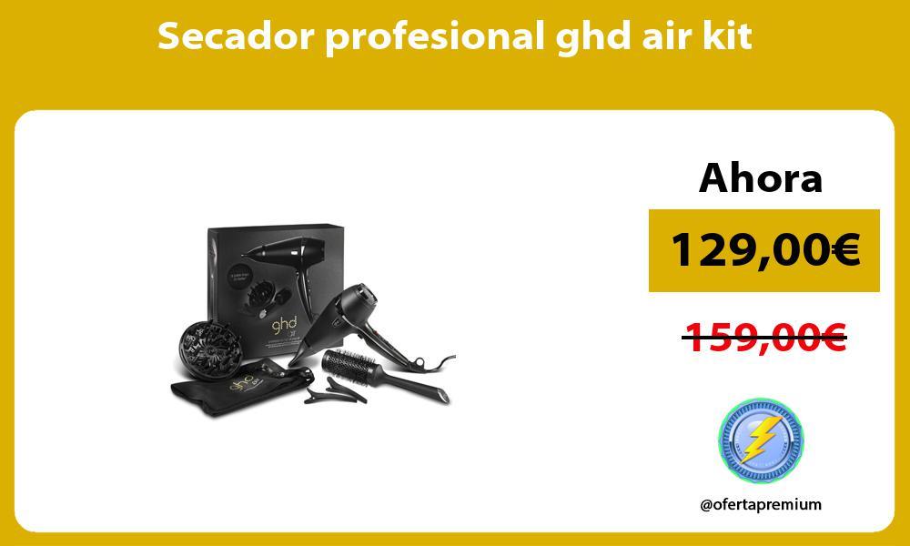 Secador profesional ghd air kit