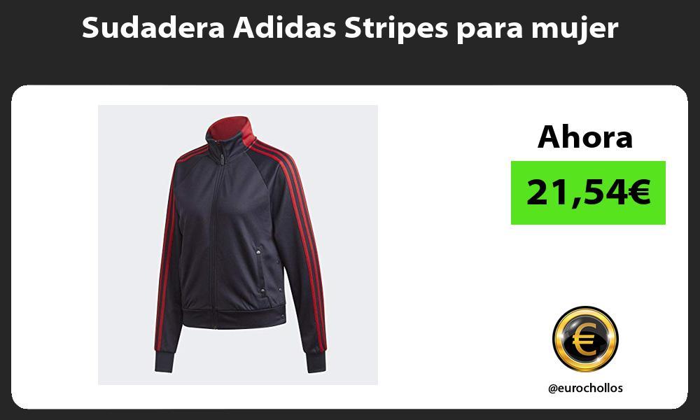 Sudadera Adidas Stripes para mujer