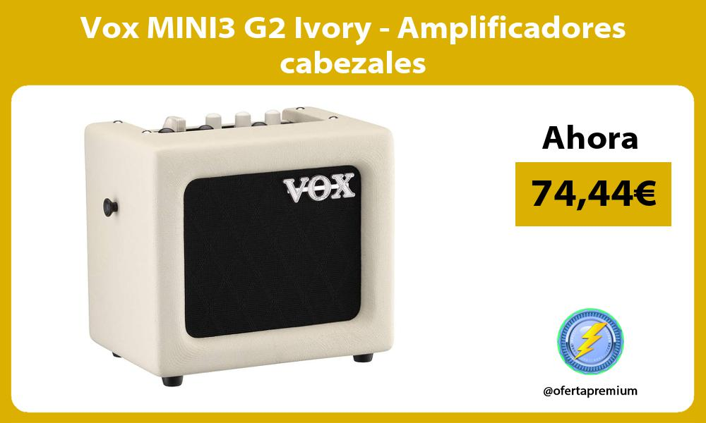 Vox MINI3 G2 Ivory Amplificadores cabezales