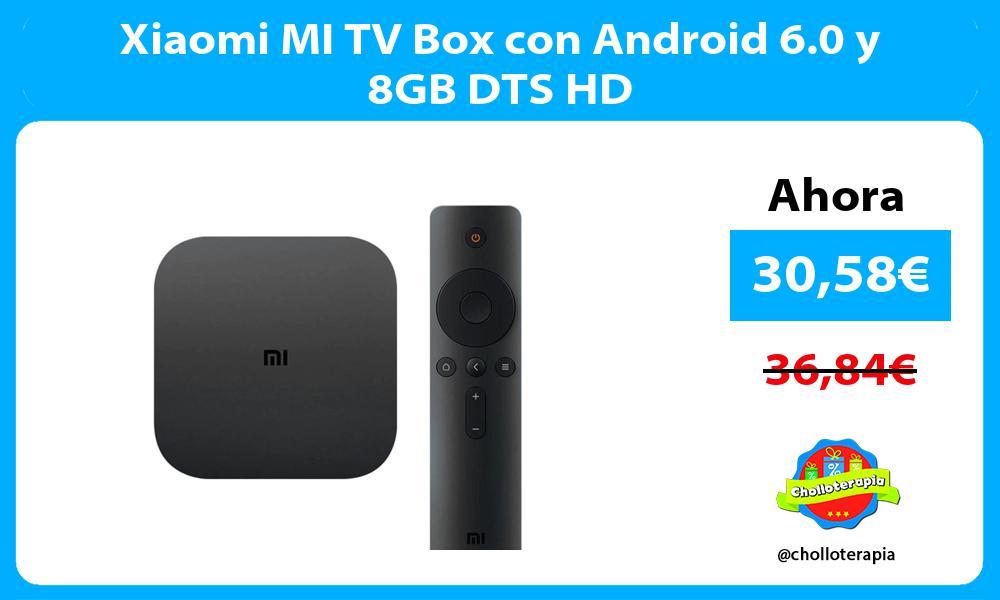 Xiaomi MI TV Box con Android 6 0 y 8GB DTS HD