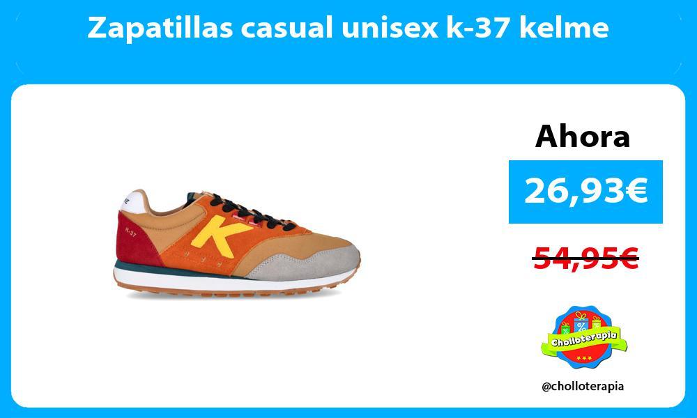 Zapatillas casual unisex k 37 kelme