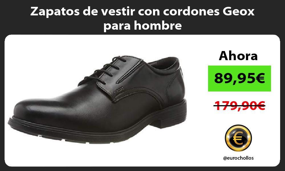 Zapatos de vestir con cordones Geox para hombre