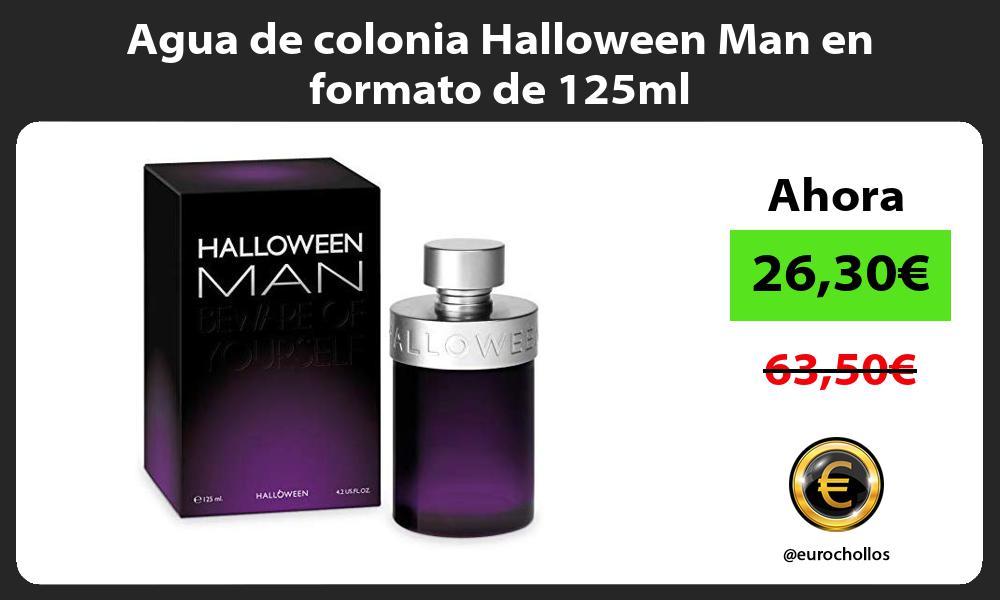Agua de colonia Halloween Man en formato de 125ml