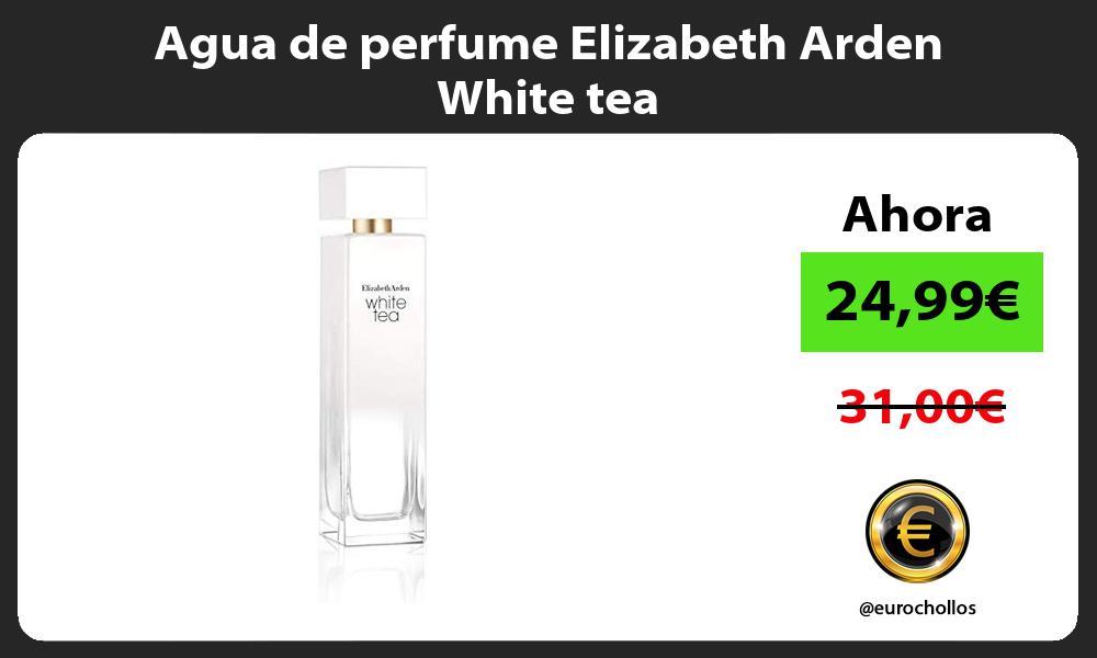 Agua de perfume Elizabeth Arden White tea