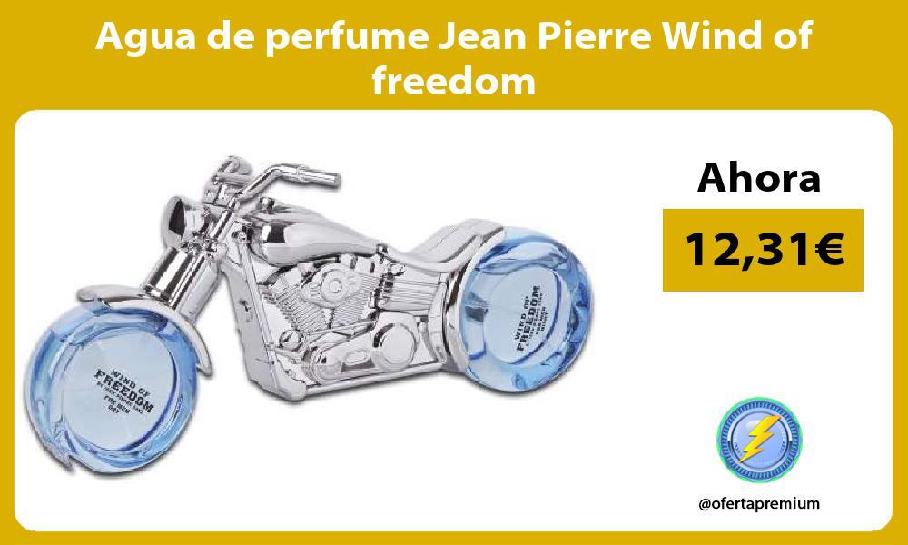 Agua de perfume Jean Pierre Wind of freedom