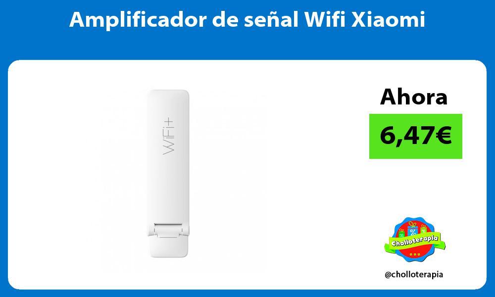 Amplificador de señal Wifi Xiaomi