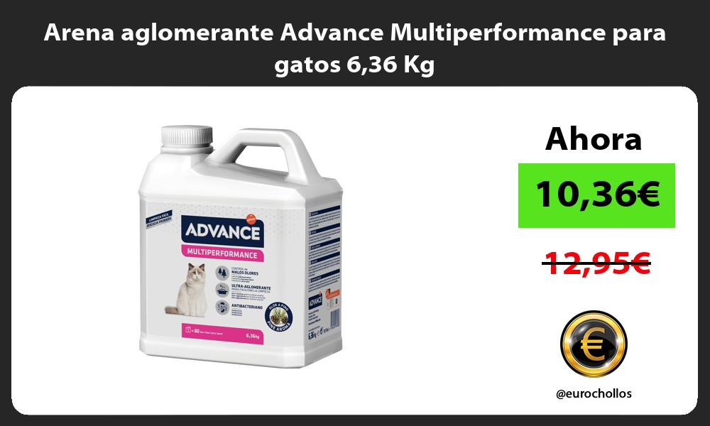 Arena aglomerante Advance Multiperformance para gatos 636 Kg