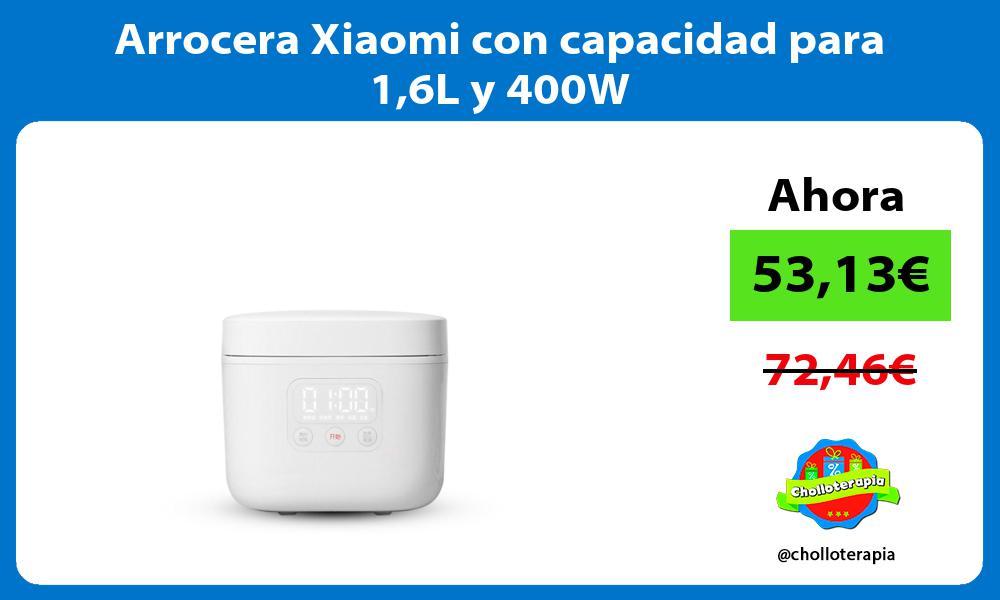 Arrocera Xiaomi con capacidad para 16L y 400W
