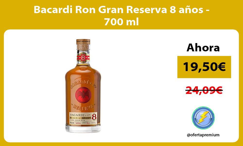 Bacardi Ron Gran Reserva 8 años 700 ml