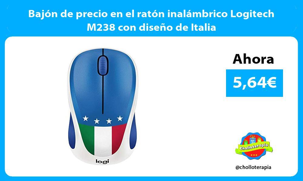 Bajón de precio en el ratón inalámbrico Logitech M238 con diseño de Italia