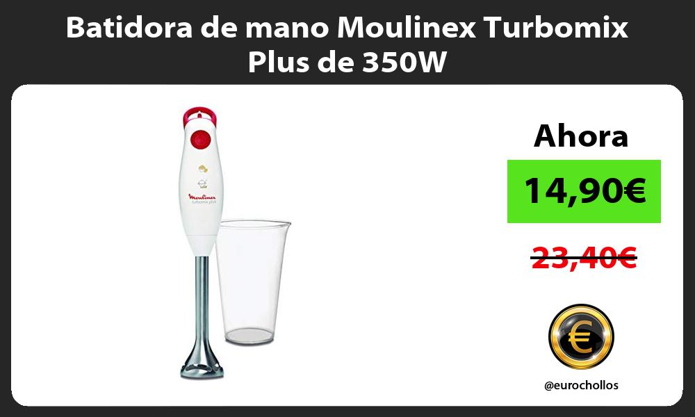 Batidora de mano Moulinex Turbomix Plus de 350W