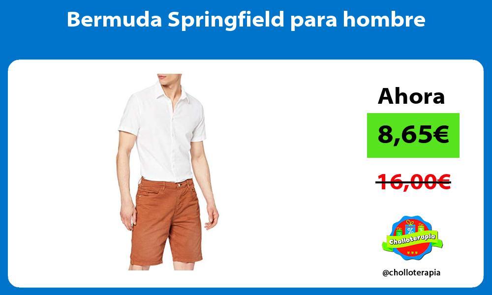 Bermuda Springfield para hombre