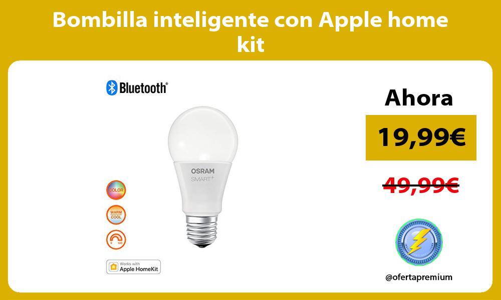 Bombilla inteligente con Apple home kit