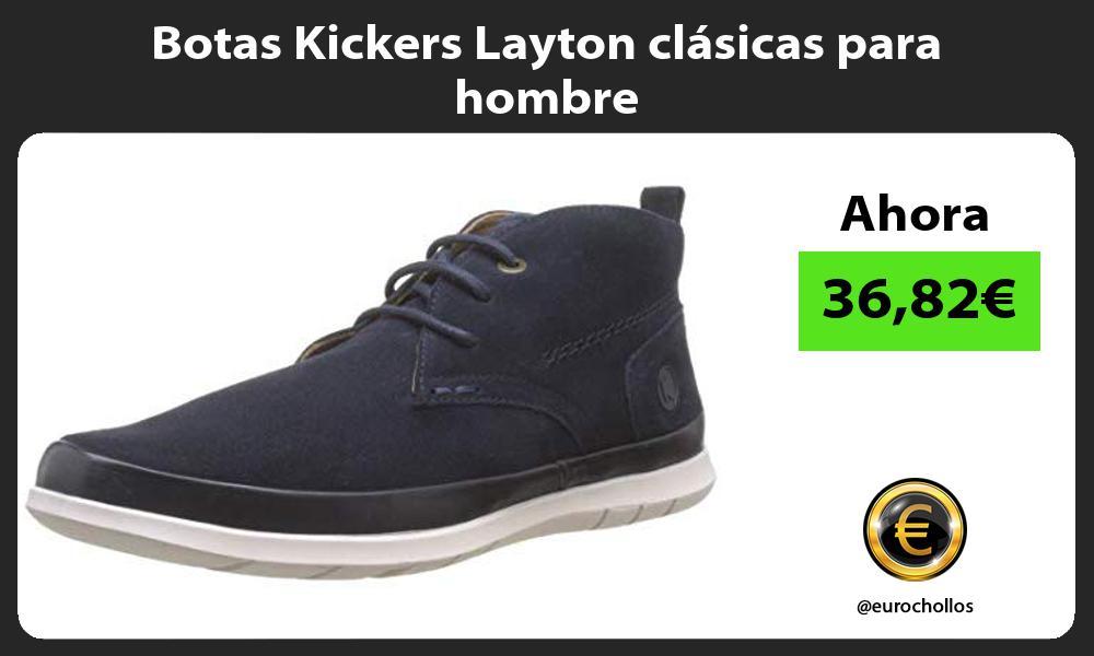 Botas Kickers Layton clásicas para hombre