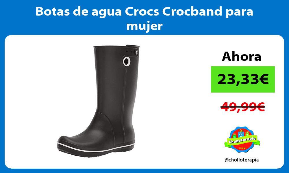 Botas de agua Crocs Crocband para mujer