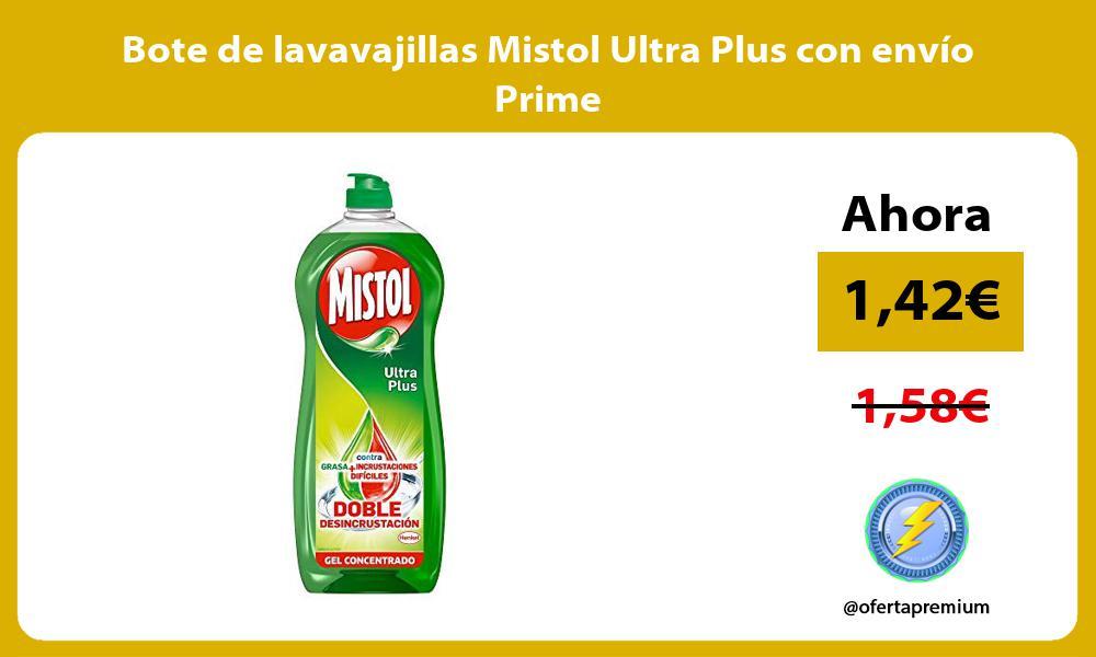 Bote de lavavajillas Mistol Ultra Plus con envío Prime