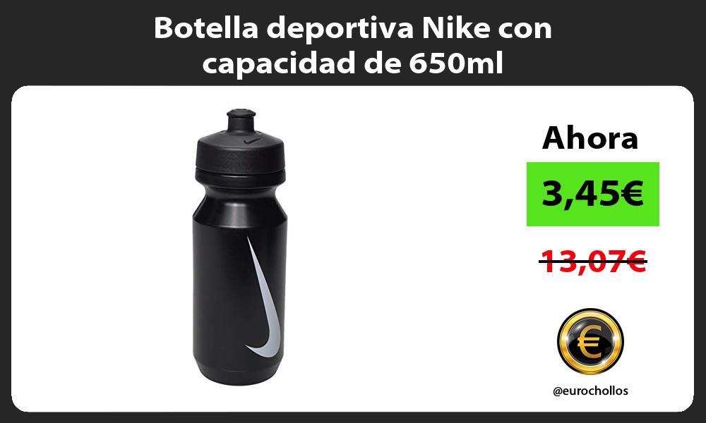 Botella deportiva Nike con capacidad de 650ml
