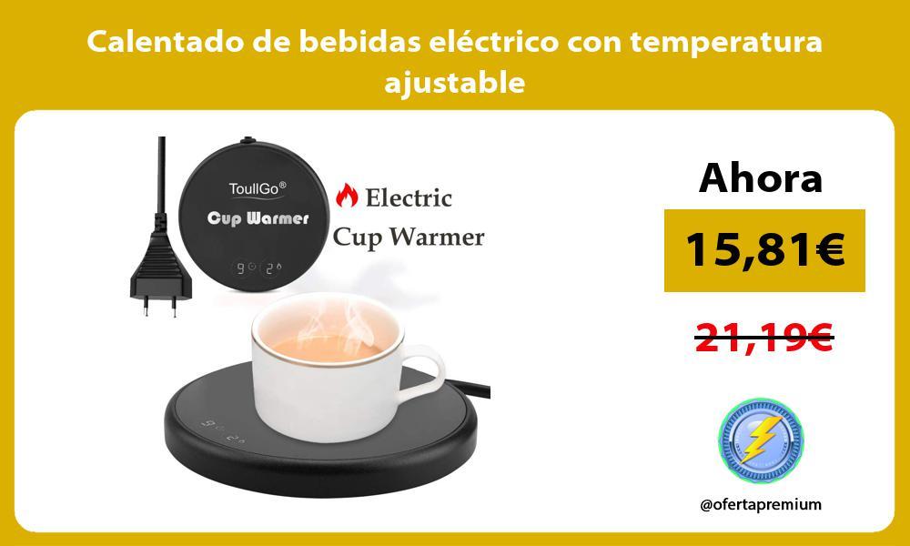 Calentado de bebidas eléctrico con temperatura ajustable