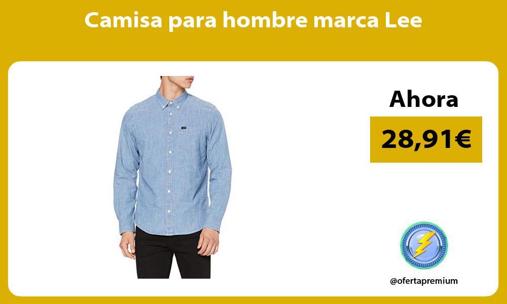 Camisa para hombre marca Lee