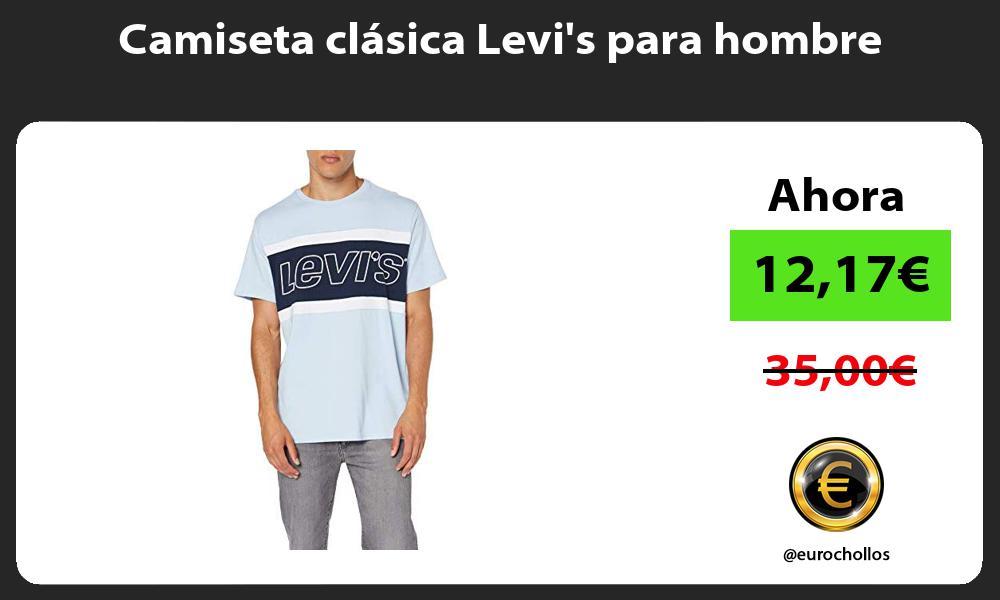 Camiseta clásica Levis para hombre