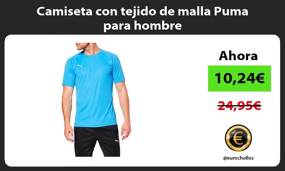 Camiseta con tejido de malla Puma para hombre