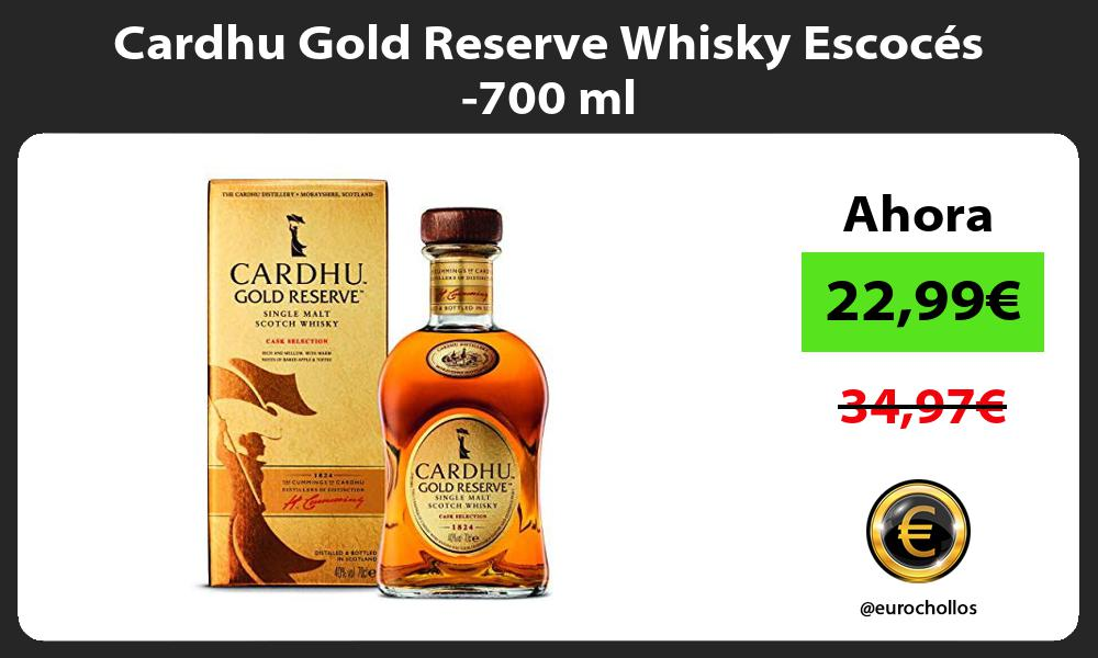 Cardhu Gold Reserve Whisky Escocés 700 ml