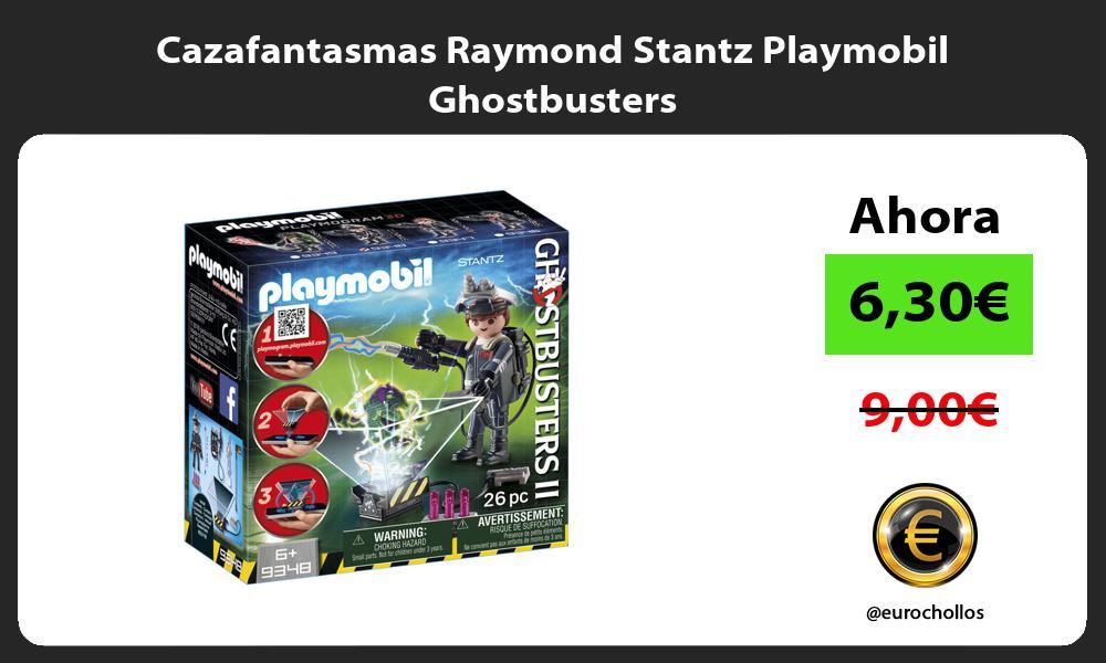 Cazafantasmas Raymond Stantz Playmobil Ghostbusters