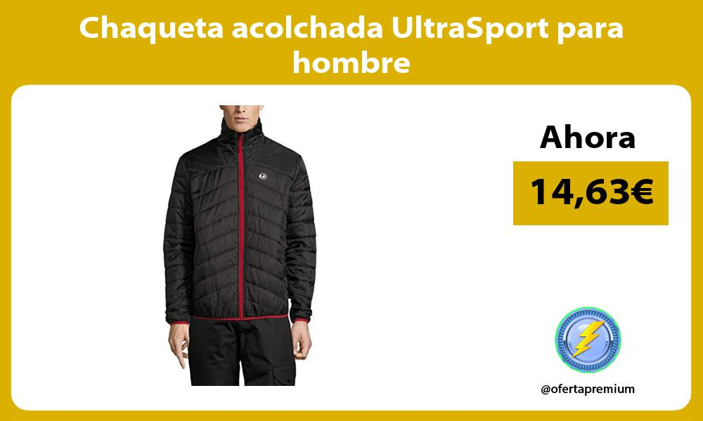 Chaqueta acolchada UltraSport para hombre