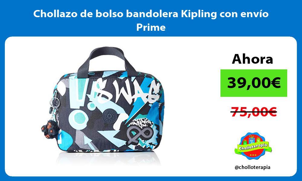 Chollazo de bolso bandolera Kipling con envío Prime