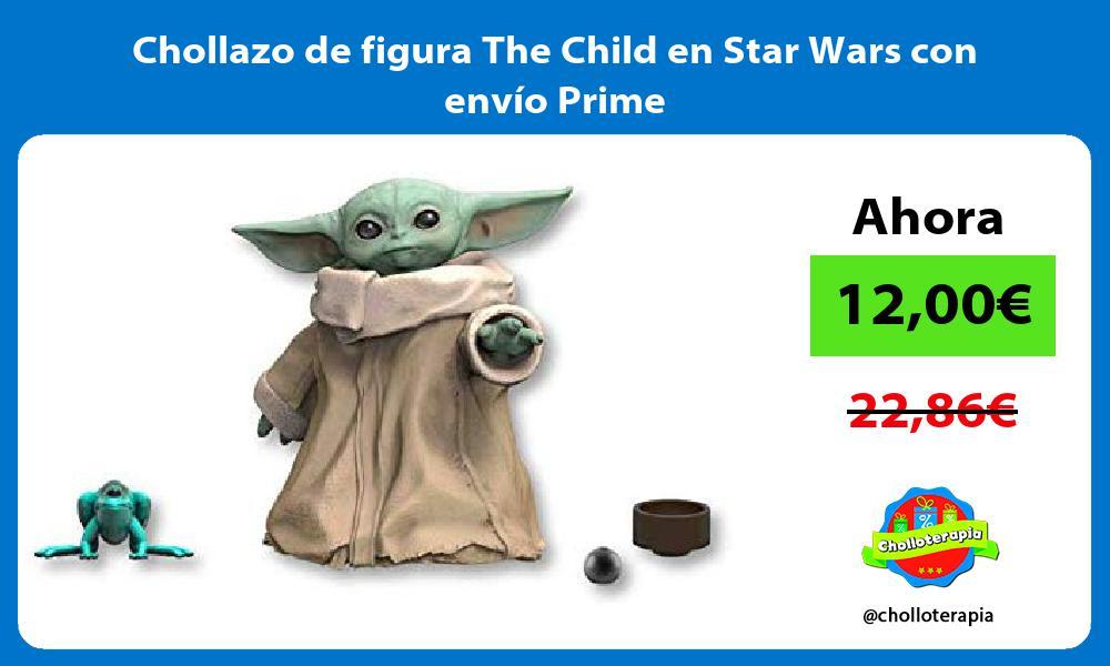 Chollazo de figura The Child en Star Wars con envío Prime