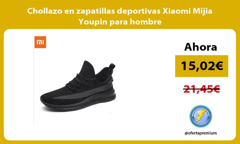 Chollazo en zapatillas deportivas Xiaomi Mijia Youpin para hombre